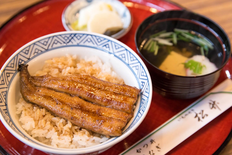 レストラン松竹のひときれ鰻丼-03