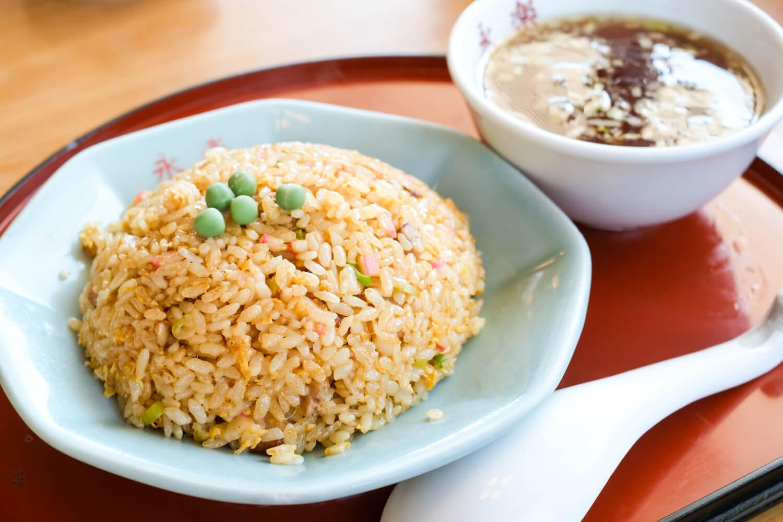 中華の永楽の自家製麺、餃子、焼飯-07