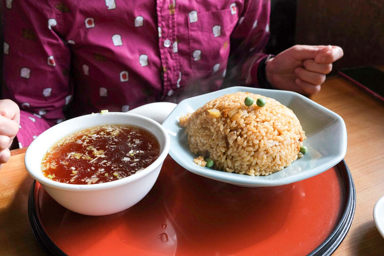 中華の永楽の自家製麺、餃子、焼飯-06